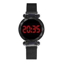 2020 New Fashion LED watch unique design digital women watches student sports watches women relogio