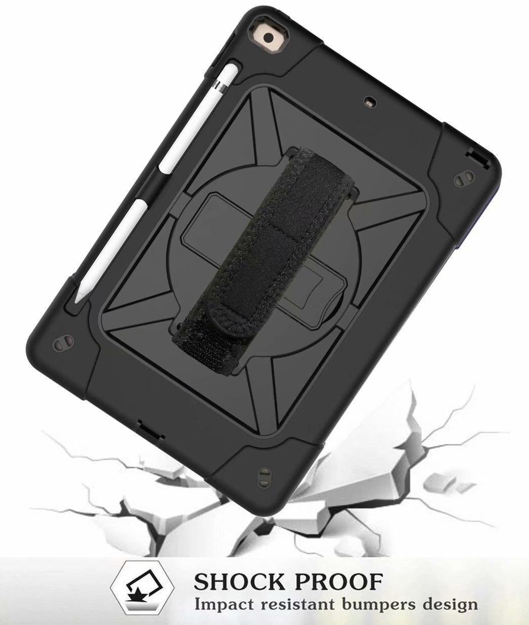 iPad Heavy Rugged 2020 Hybrid Armor Pencil 8th Holder Duty For Shockproof Generation Case