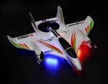 XK X450 VTOL 2,4G 6CH EPO 450mm envergadura 3D/6G modo conmutable acrobacias Avión RC RTF w/transmisor de los niños al aire libre, juguetes de RC