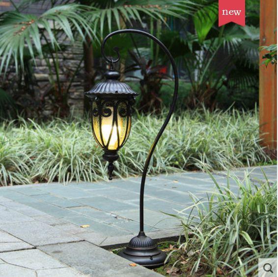 European lawn lamp outdoor waterproof garden lamp grass aisle lighting street lamp community garden park villa floor lamp enlarge
