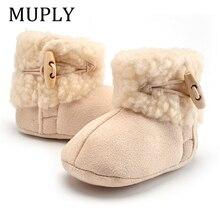 2020 nouveau hiver en cuir véritable bébé chaussures bottes nourrissons chaud chaussures fourrure laine filles bébé chaussons en peau de mouton garçon bébé bottes