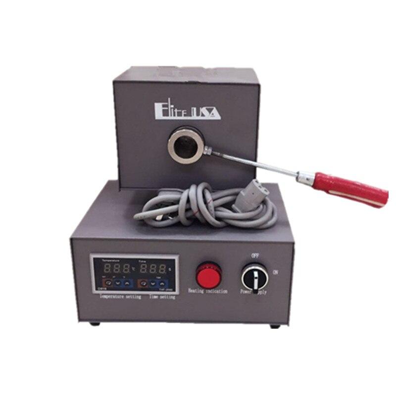 Forno de aquecimento flexível do forno de derretimento da prótese dental para a máquina flexível da injeção da dentadura de valplast