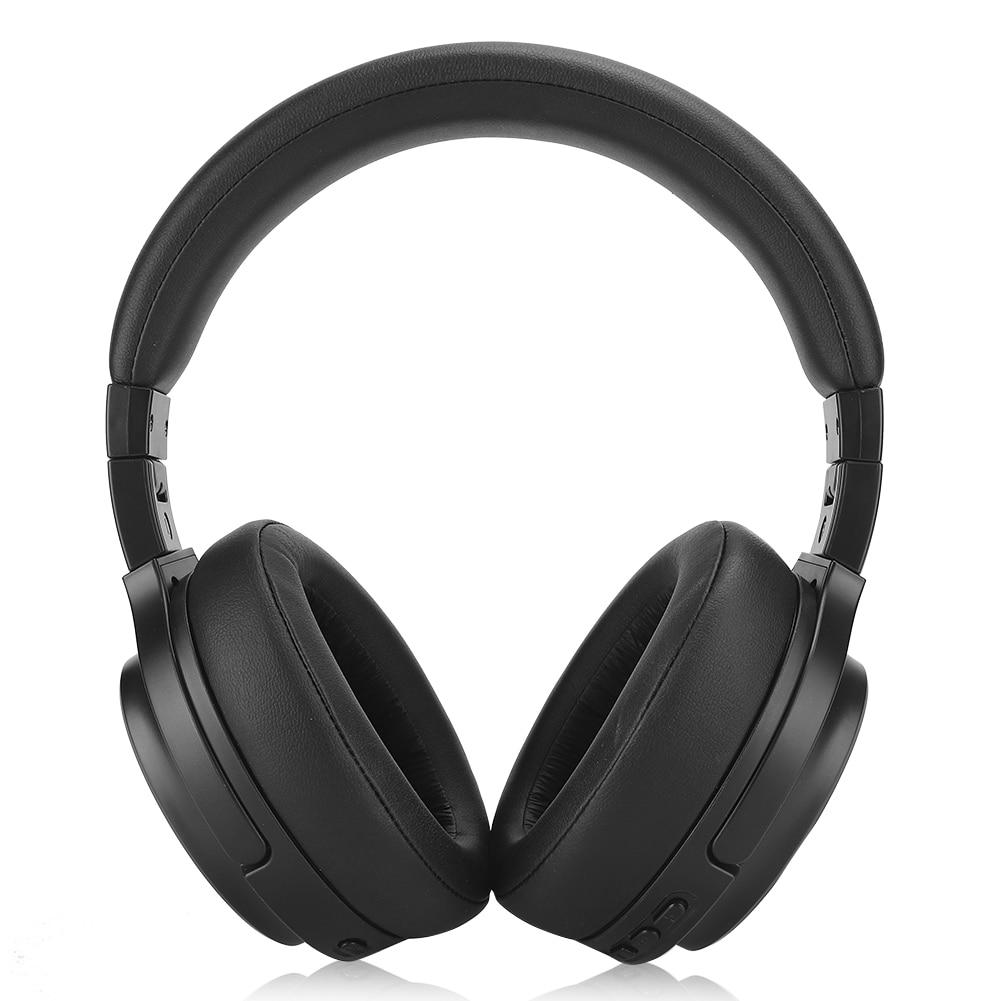 Active Noise Reduction ANC Head-mounted BT Headset Wireless Folding Phone Headphone enlarge