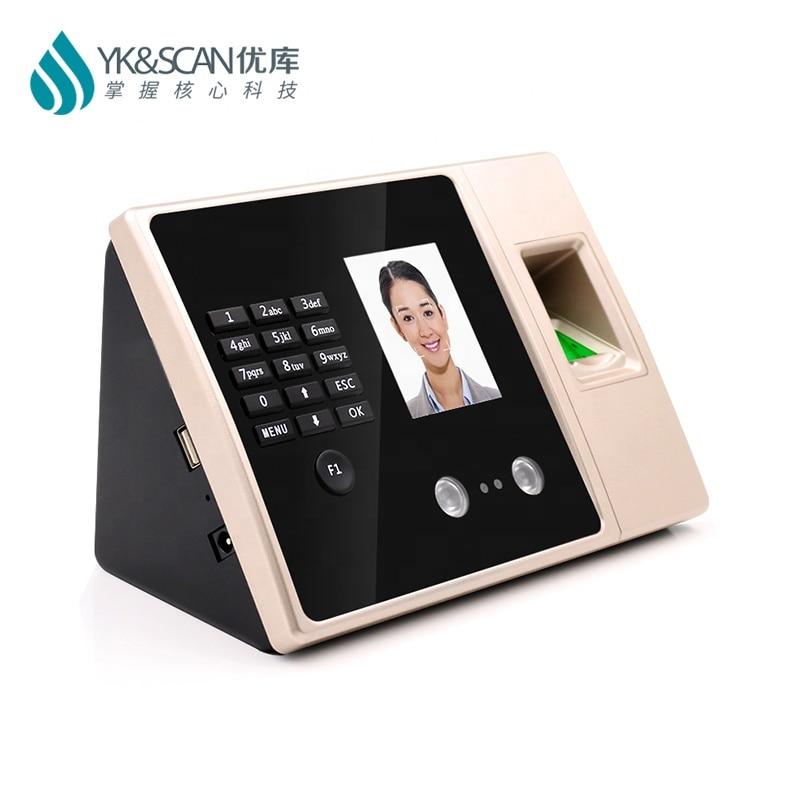 برنامج مجاني التعرف على الوجه بصمة وقت تسجيل الوصول آلة إدارة الحضور FA02