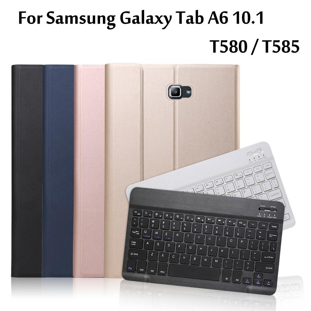 Wanderer Bluetooth Tastatur Fall Für Sansumg Galaxy Tab A6 10,1 SM-T580 T585 Tablet Abdeckung Für Tab EINE 10.1 T580 SM-T585