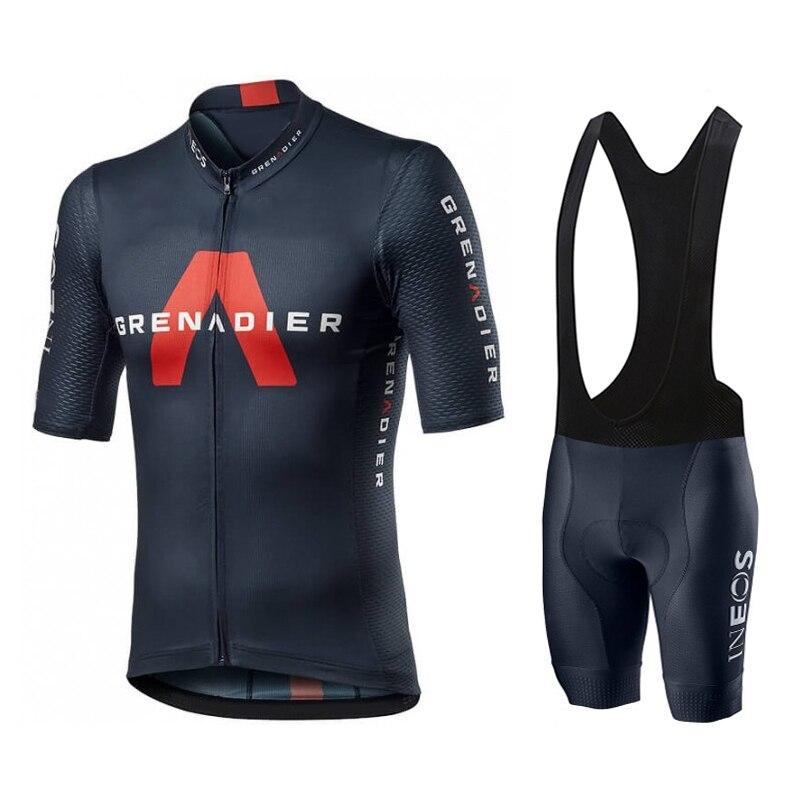 INEOS Grenadier PRO TEAM-Jersey de Ciclismo para hombre, Ropa de bicicleta de...