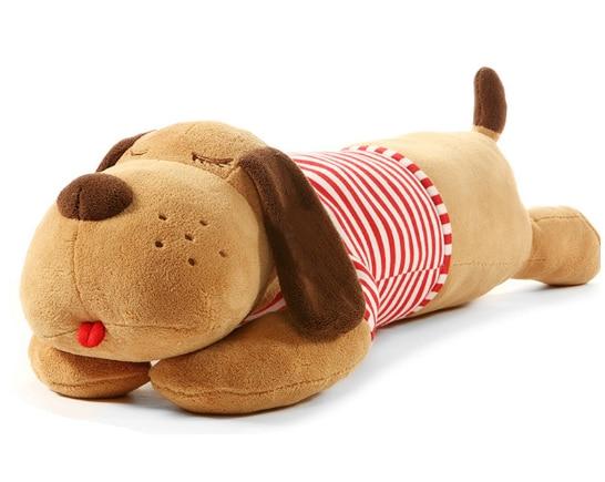 40/70/90 CM  Plush Toy Big Sleeping Dog Stuffed Puppy Dog Soft  Animal Toy