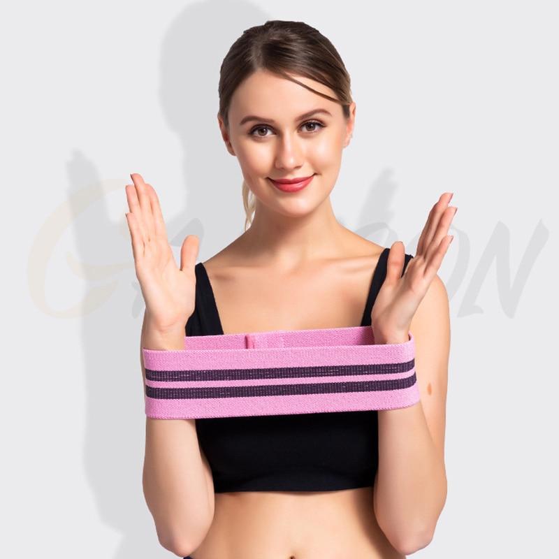 Fitness Accessories Bodybuilding Resistance Bands Elastic Stretch Yoga Belt Goods Training Bandsafely Rubber Bands Sport Strap