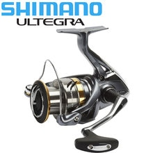 Original SHIMANO ULTEGRA carrete giratorio 1000/2500/C3000/4000 Max 11KG de 5,0: 1/4 8:1 engranaje de agua de mar/pesca de agua dulce