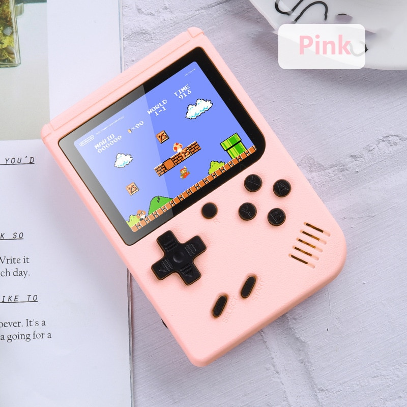 Consola de videojuegos Retro portátil para niños, miniconsola de bolsillo, 800 juegos...