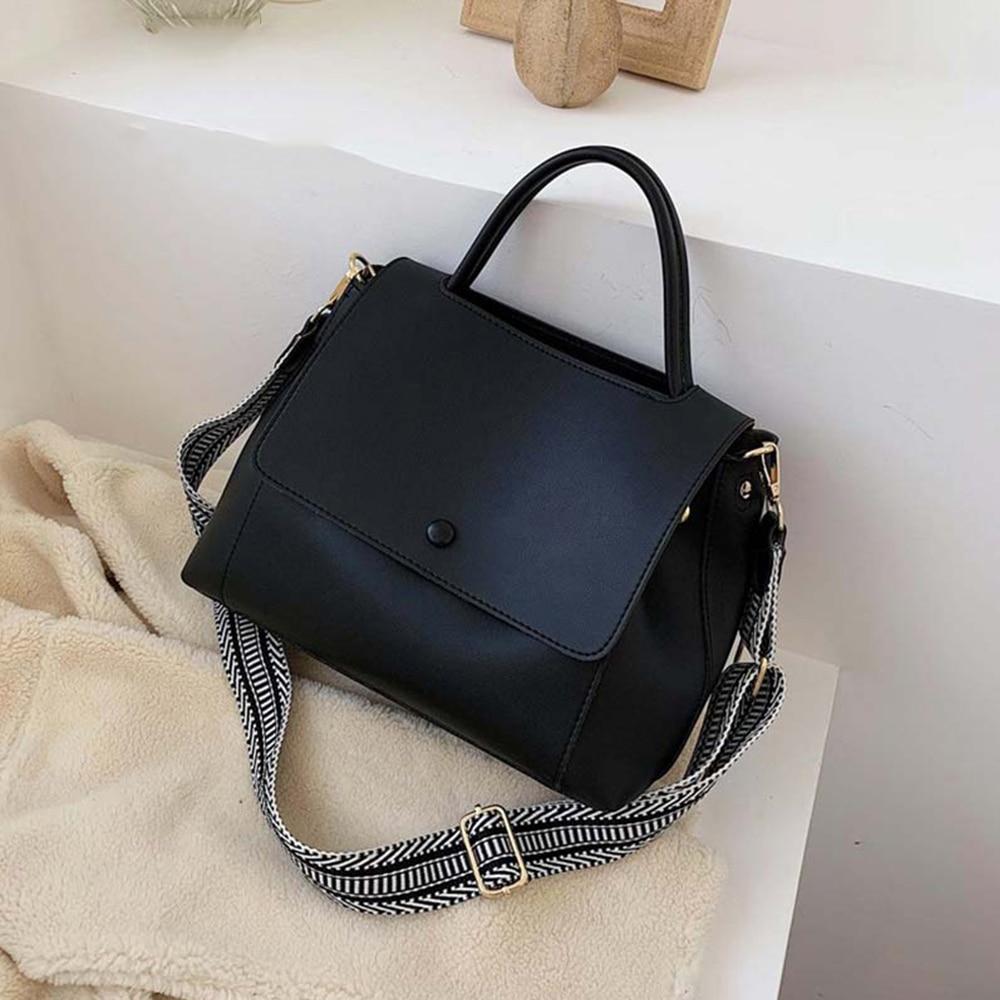 Tamara Fashion Simply PU Leather Crossbody Bags Women 2020 Solid Color Shoulder Messenger Bag Lady Chain Travel Small Handbags
