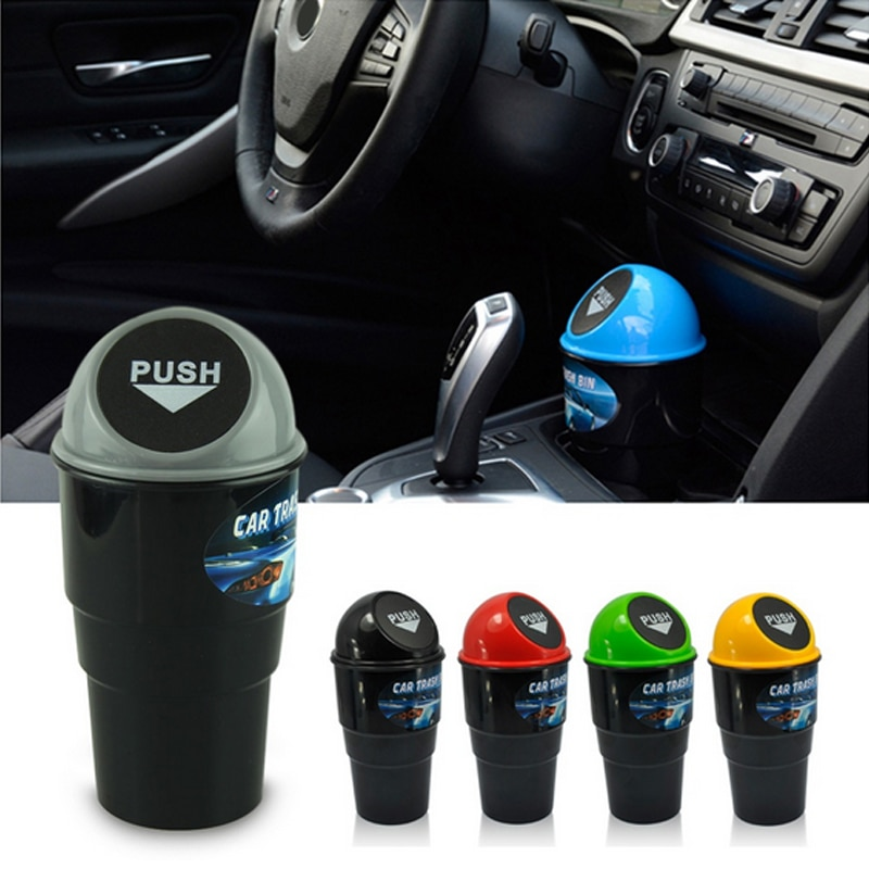 Multi-color creative car trash can mini multi-purpose bucket 40FP12