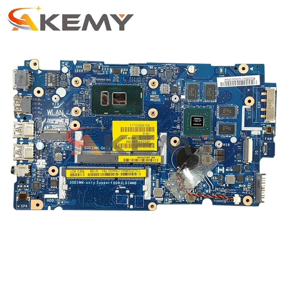 Akemy I7-6500U GT930M 4GB لديل انسبايرون 5457 5557 اللوحة BAV00 LA-D051P CN-02XPMY 2XPMY اللوحة 100% اختبار