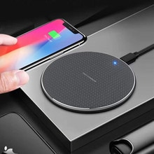 10W Fast Wireless Charger For Samsung Galaxy S10 S9 S8 Note 9 USB Qi Charging Pad for iPhone 11 Pro