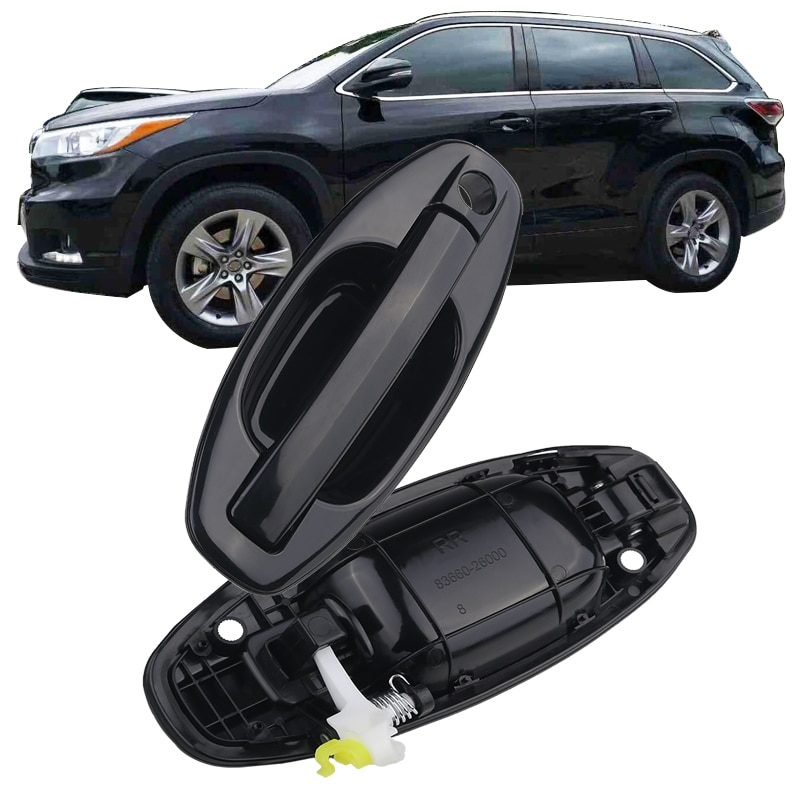 83650-26000 83660-26000 para Hyundai Santa Fe 2001-2006 manija exterior del coche 4 puertas manija exterior manija de puerta exterior