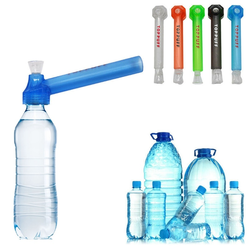 Portable Plastic Removable Water Pipe Wholesale Hookah Shisha Glass Pipes for Smoking Accessories