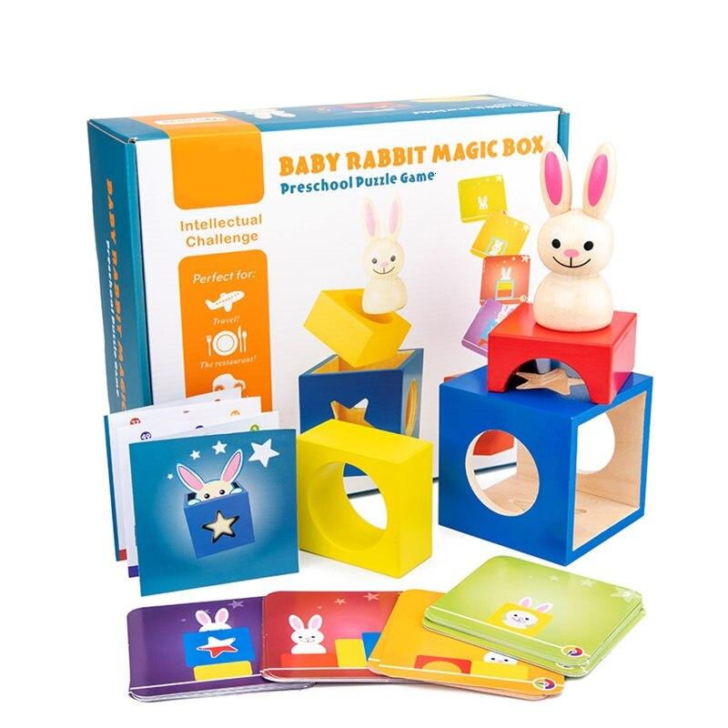 Смарт Банни бу Делюкс когнитивное развитие навыков логическое мышление настольные игры 60 вызов игрушки для детей от 4 до 10 лет