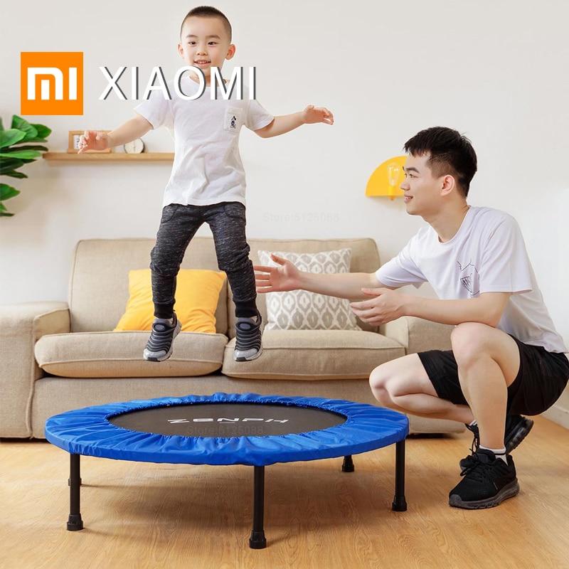 Trampolín XIAOMI MIJIA para saltar, trampolines con malla para niños, cama de salto para bebé, mini trampolines de rebote para fitness