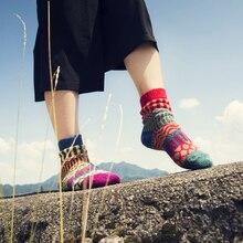 Cozy Cashmere Socks winter Floor Socks fashion Warm Lounge Sleep Socks women Mid-tube Socks Striped