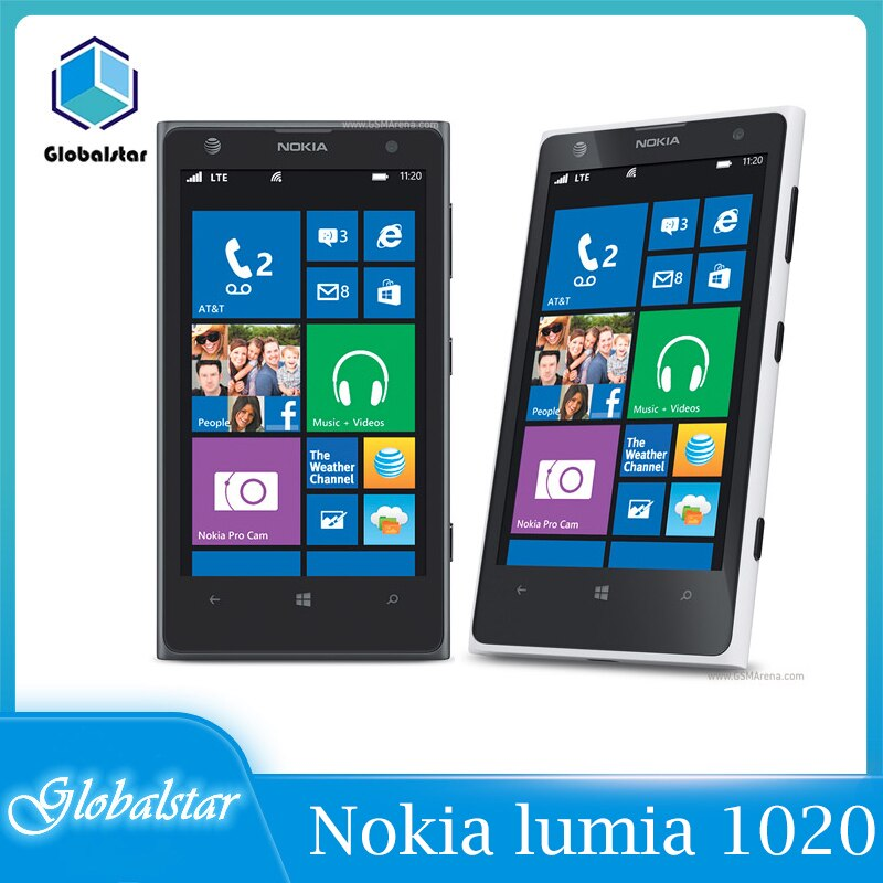 Nokia lumia 1020 reacondicionado Original Lumia 1020 teléfono móvil 2 RAM 32...