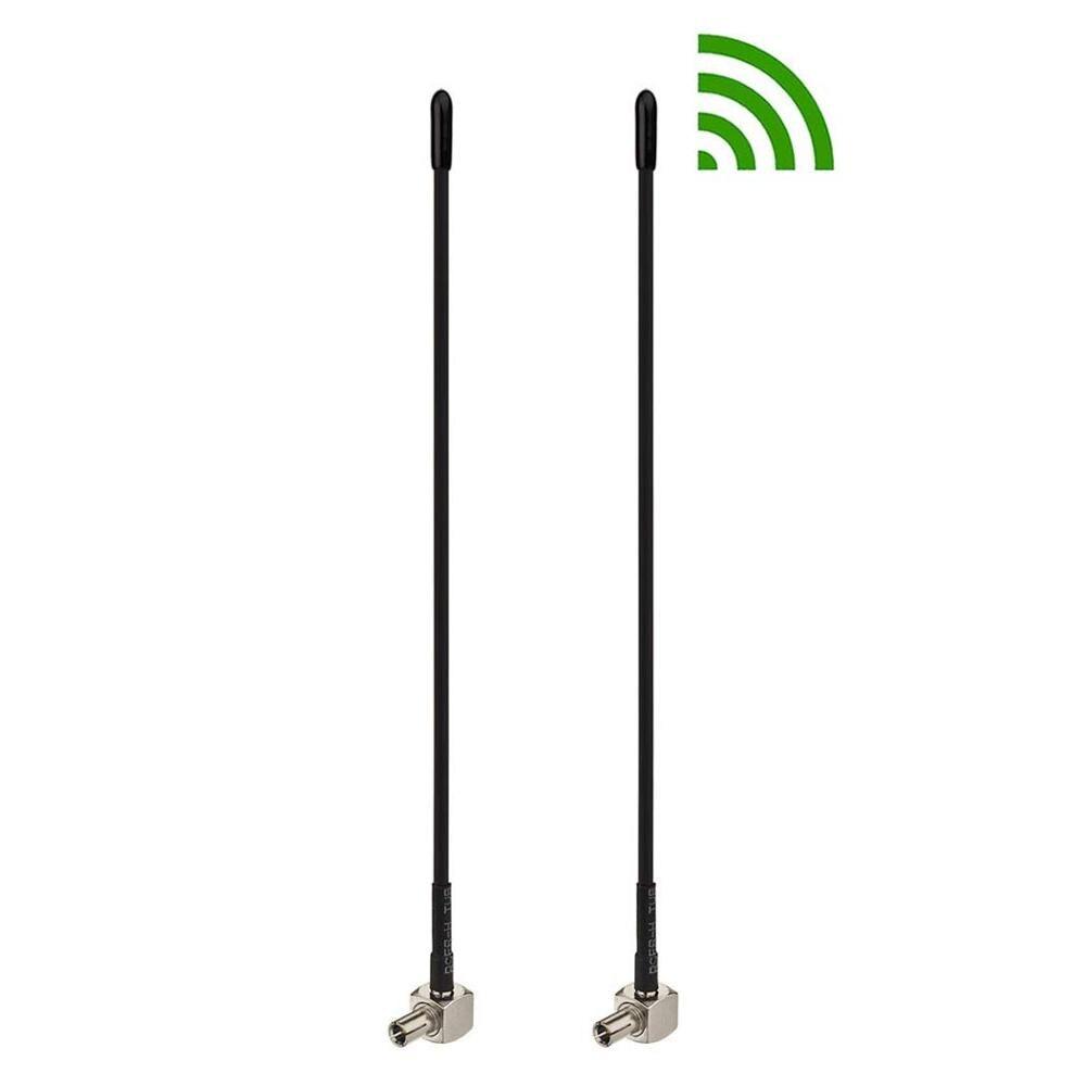 2 uds 4G LTE TS9 conector 5dBi Antena de banda ancha amplificador de señal para HUAWEI E8372,E5577,E5573,E5786,E8278 ZTE R216-Z