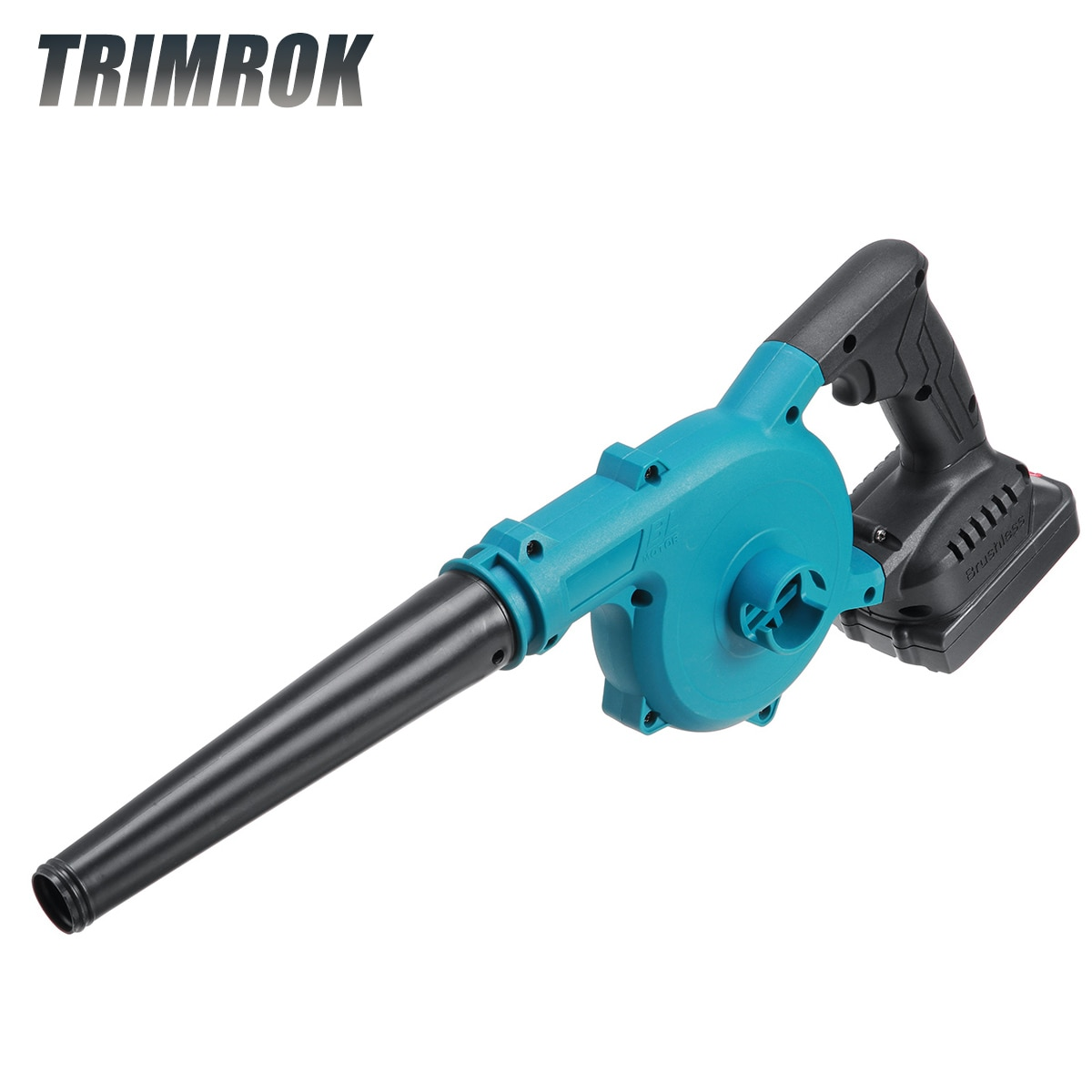 TRIMROKCordless Electric Air Blower & Suction Portable Leaf SnowBlower Computer Dust Collector Cleaner For Makita 18V Battery