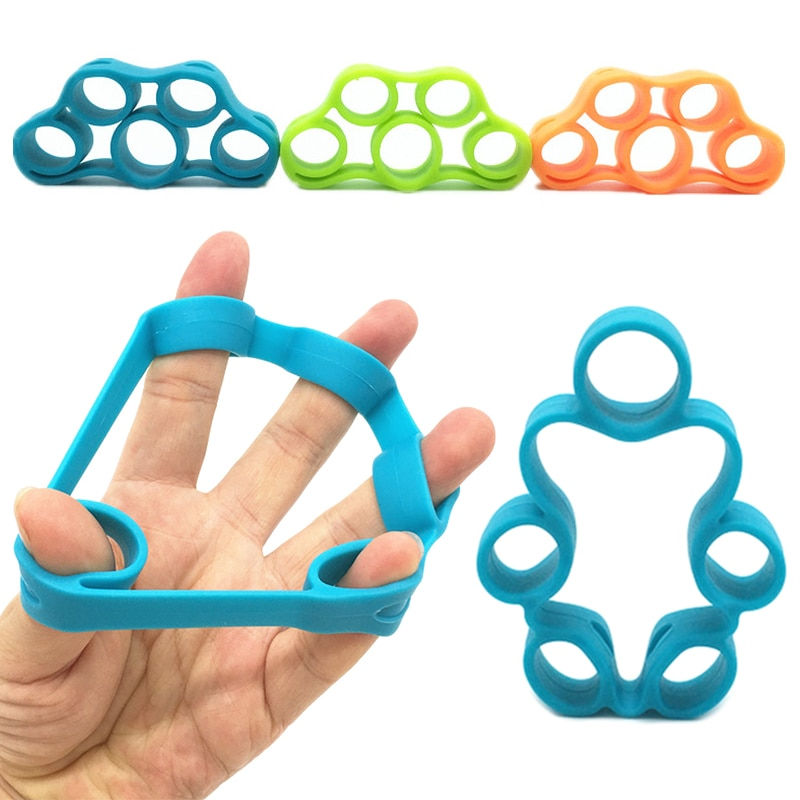 1 Uds accesorios para equipos de fitness silicona agarre de mano fuerza agarre de mano entrenador de dedo ejercitador de mano herramientas de gimnasio # SD