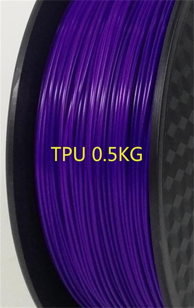 0.5KG TPU 3D Printer filament 1.75mm 500g Flex Soft Elastomer Rubber Material for 3D Printer Consumables