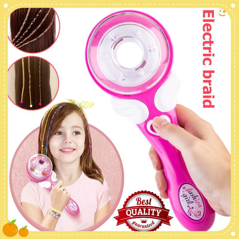 Girls Hair Braider Automatic DIY Stylish Braiding Hairstyle Tool Twist Braider Machine Weave Roller