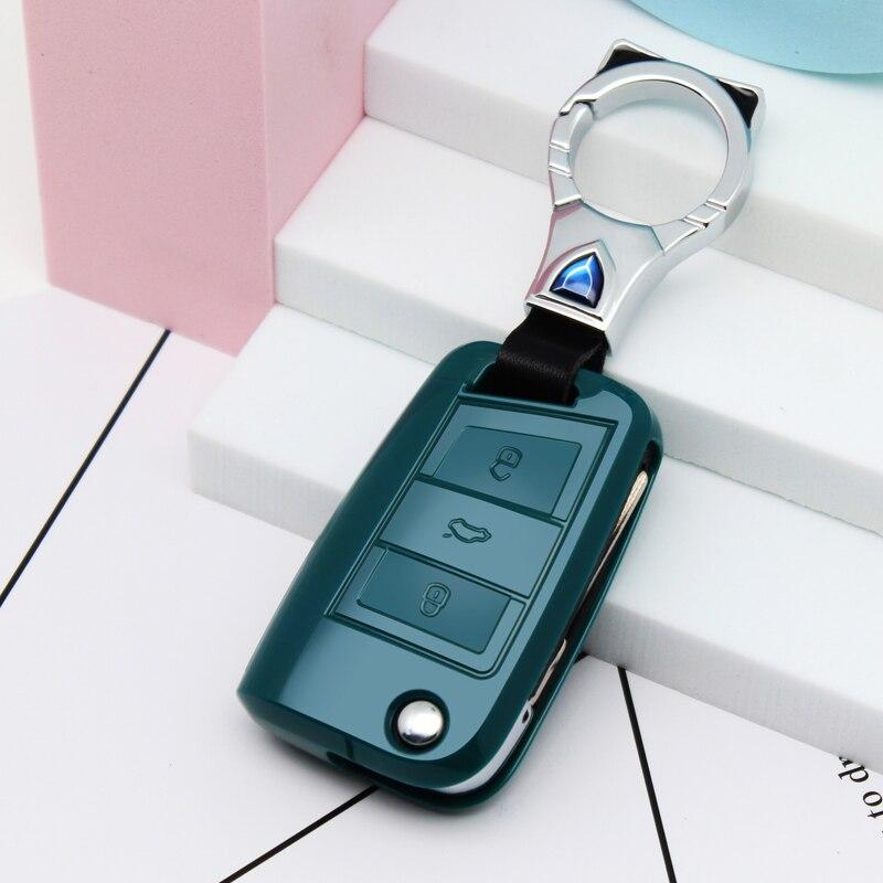 Funda de TPU suave para llave de coche, carcasa de llavero para...