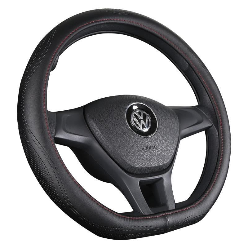 الجلود غطاء عجلة القيادة سيارة غطاء مقبض عجلة توجيه سيارة غطاء عجلة القيادة أربعة مواسم المتاحة المقود غطاء الداخلية لوازم