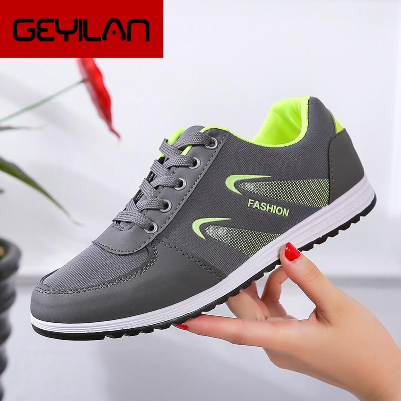 Las mujeres Zapatos de deporte de la Mujer Casual transpirable vulcanizados Zapatillas...