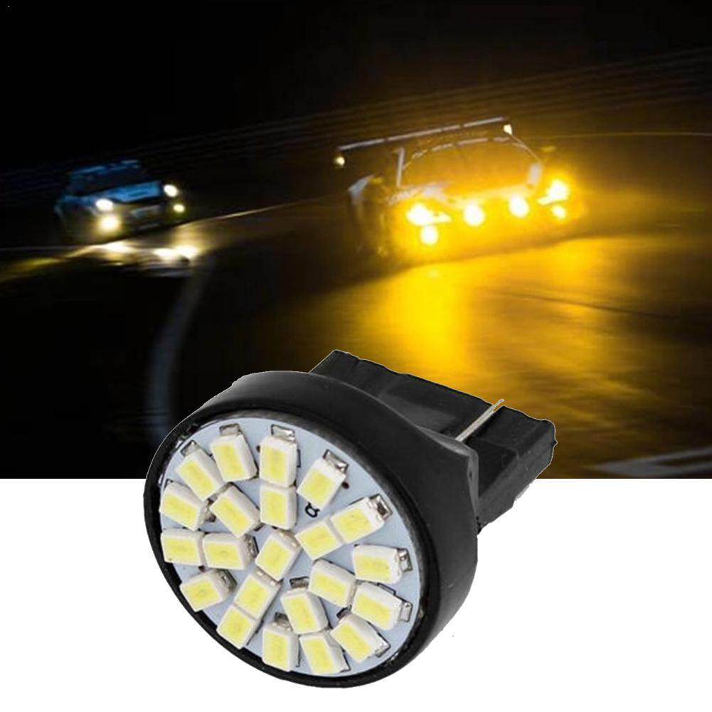 1 Uds T20 1206 22 lámpara SMD bombillas LED coches Luz de marcha atrás 5W lámpara trasera luz de señal inversa coche LED Auto luz Q4X4
