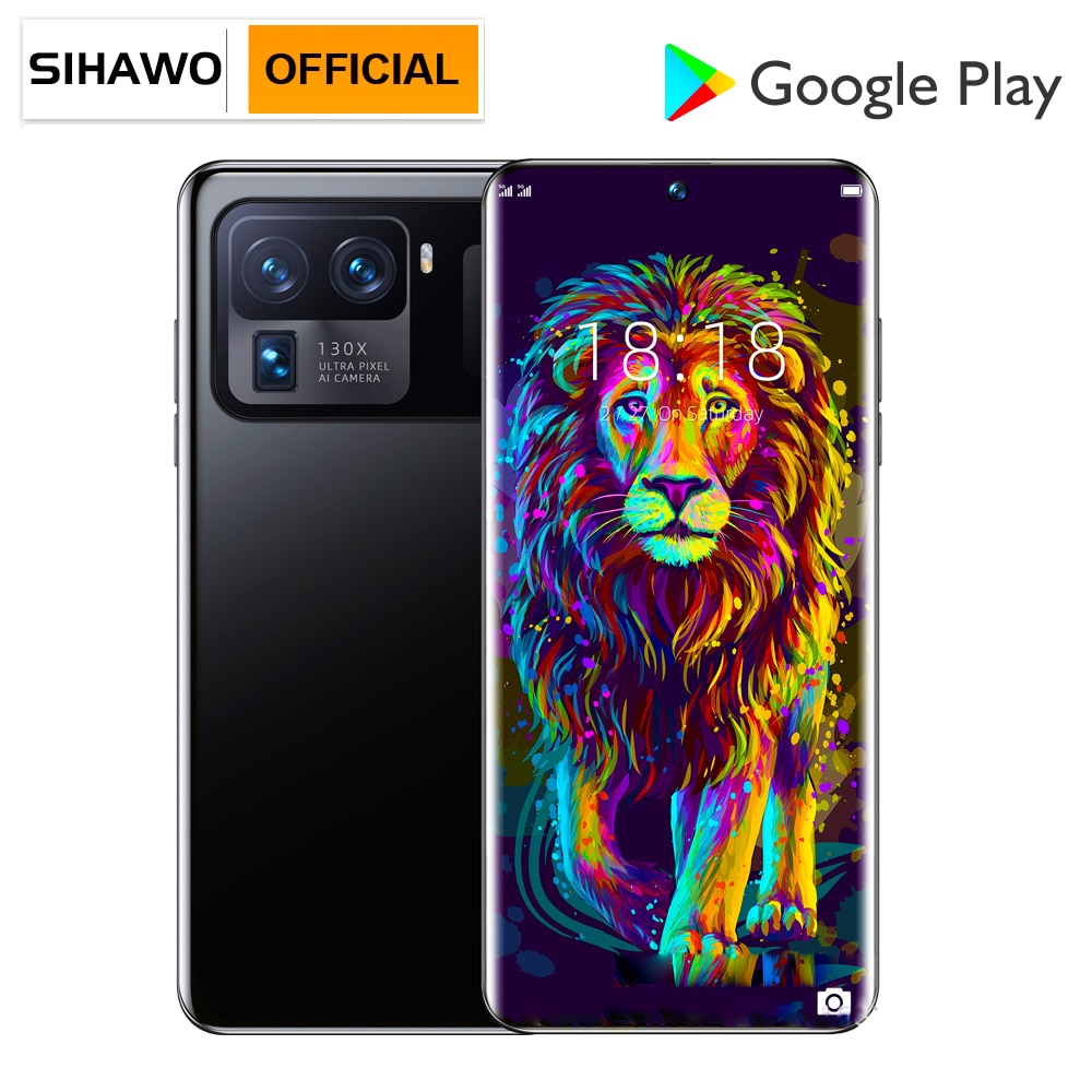 8GB RAM 256GB ROM Android 10 Dual SIM 4G Smart Phone Call Qualcomm Snapdragon 888 Octa Core 7.3 inch 1440x3200 Resolution Tablet