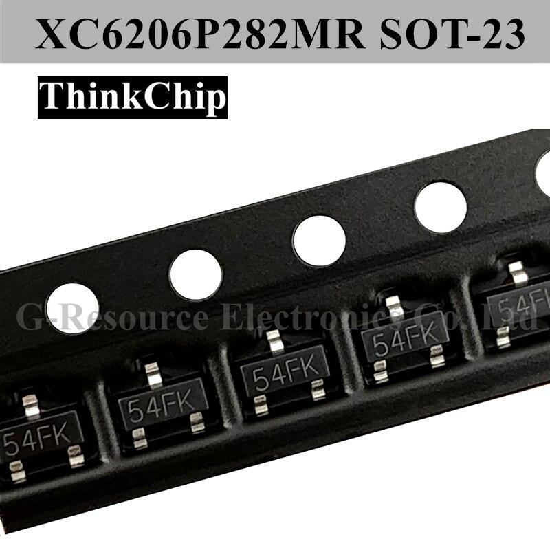 ME6206P362MR XC6206P362MR XC6206 SOT-23 3,6 V LDO de tensión estabilizado IC (marcado 665K)