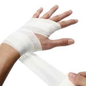5cm*4.5m Self-Adhesive Elastic Bandage First Aid Health Care Treatment Gauze Tape Emergency Muscle Tape First Aid Tool