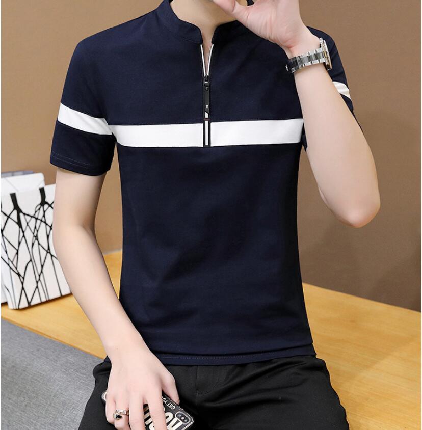 2021 الصيف قميص بولو الرجال عادية قمصان قصيرة الأكمام عالية الجودة