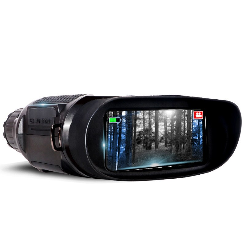 Imported Digital Night Vision Instrument Non-Thermal Imaging Binocular Black HD Shimmering Night Vision Telescope TV Launch