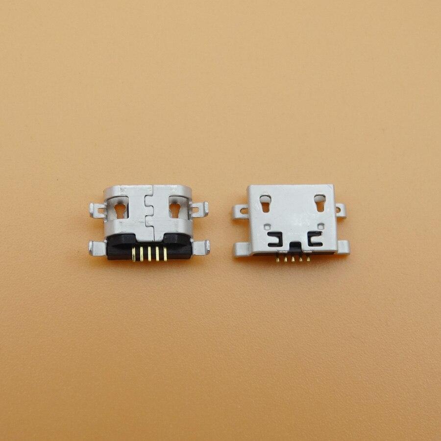 50 unids/lote para Alcatel One Touch Pop C5 Ot5036 5036 5036D conector de carga Micro Usb