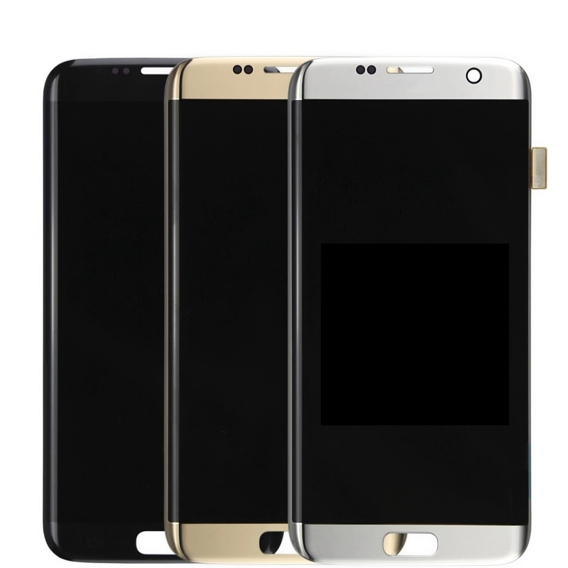 100% Original LCD Screen For Samsung Galaxy  S7 edge LCD Display G935F SM-G935FD Touch Screen Digitizer Assembly With Frame enlarge