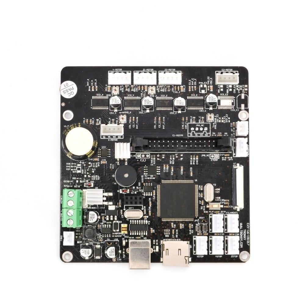 Tronxy طابعة ثلاثية الأبعاد اللوحة الرئيسية التحكم ترقية نسخة اللوحة الأم الصامتة تحكم مجلس impresora ثلاثية الأبعاد أجزاء X5SA 2E سلسلة
