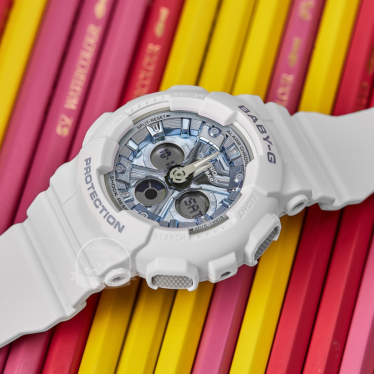 Casio watch baby-g women watches set luxury brand ladies watch 100m Waterproof LED clocks digital Quartz sport watch womenBA-130 enlarge