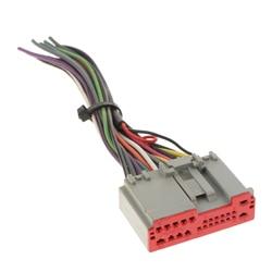 Conector do adaptador do chicote de fios do fio do iso do rádio estéreo do carro para ford/hyundai/lincoln