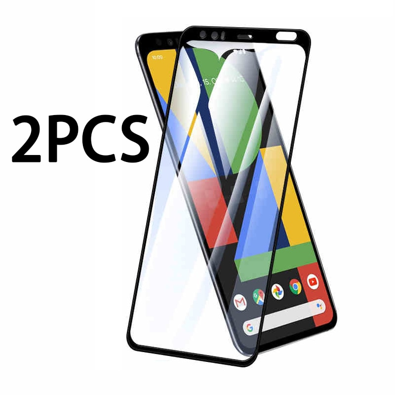 2pcs tempered glass on for Google Pixel 4 3A 3 5 4A 2 XL full screen protector Pixel4 Pixel3 Pixel2 4xl 3xl 2xl protective film