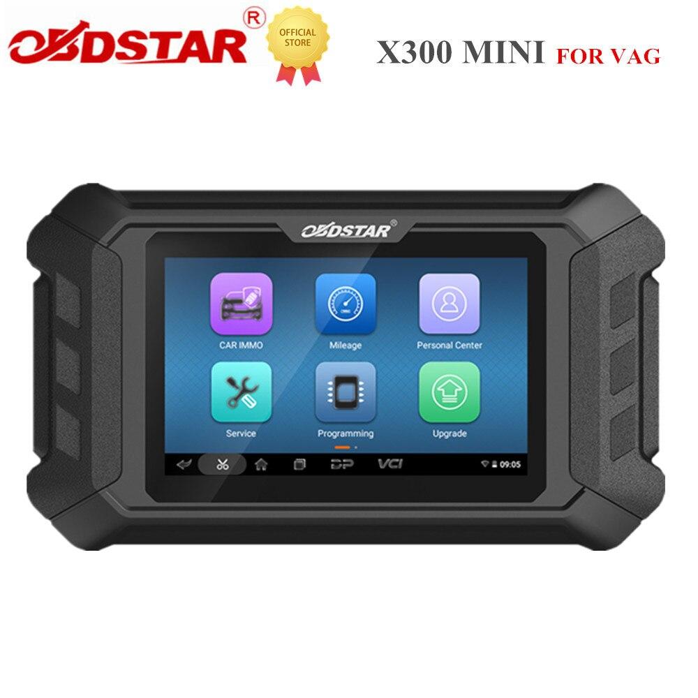 OBDSTAR X300 MINI ل VAG مبرمج كل مفتاح فقدت البرمجة/Pin رمز القراءة/العنقودية معايرة