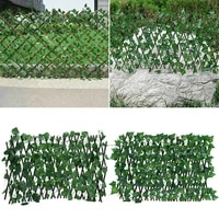 artificial leaf garden fence balcony uv protection ivy fence panel backyard privacy home decor rattan plants wall