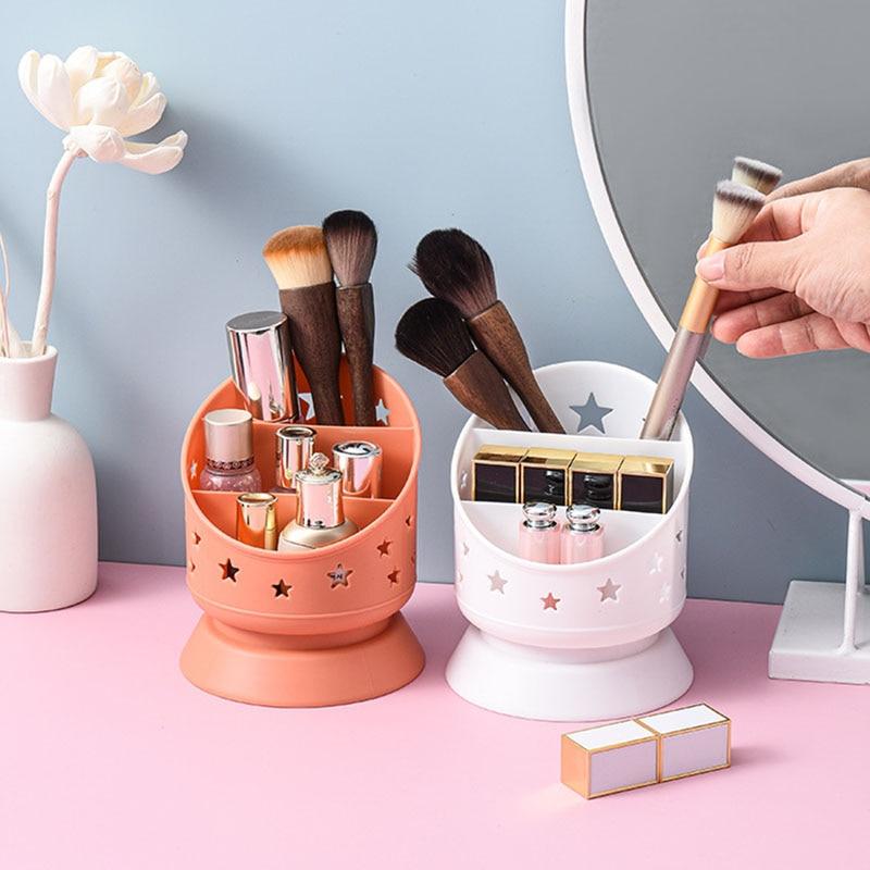 Nordic Desk Organizers Makeup Storage Box Pen Holder Stationery Organizer Organization Containers Household Desktop Decoration