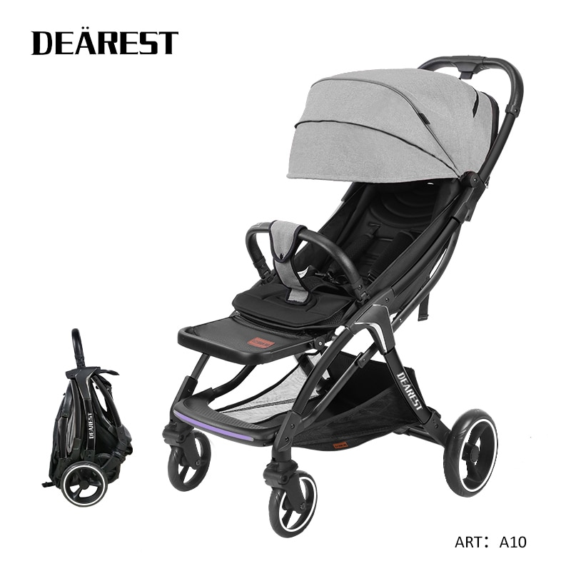 Dearest A10 Lightweight Four-Wheel Shock Absorption Stroller 8 Kilograms of the following Small Folding Russia Delivery enlarge