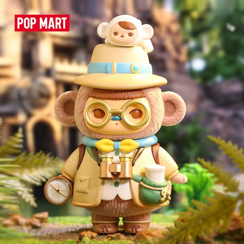 POP MART Pucky Monkey archeженская фигурка, милые художественные игрушки, коллекционная цена