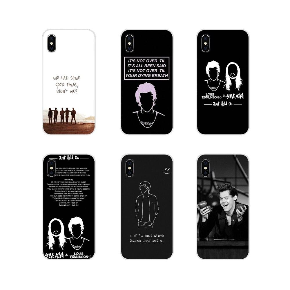 Funda de teléfono de silicona de One Direction Louis Tomlinson para Apple ipod touch iPhone 5 6 X XR XS 11Pro MAX 4S 5S 5C SE 6S 7 8 Plus